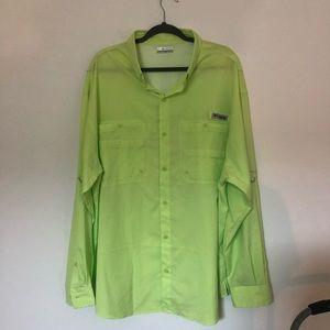 Columbia men's Omni-shade fishing shirt